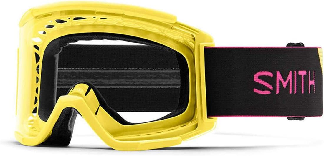 Smith Optics Squad XL Adult Off-Road Cycling Goggles - Citron/Black/Clear AFC/One Size