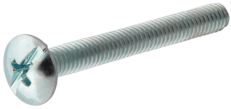 The Hillman Group 111763 1 1 1 10-24 x 1-1//2-Inch Truss Combo Head Machine Screw 100-Pack