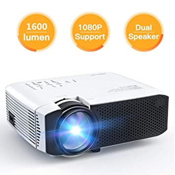 ZXL Smart Android Projector, LED Mini Video Proyector portátil ...