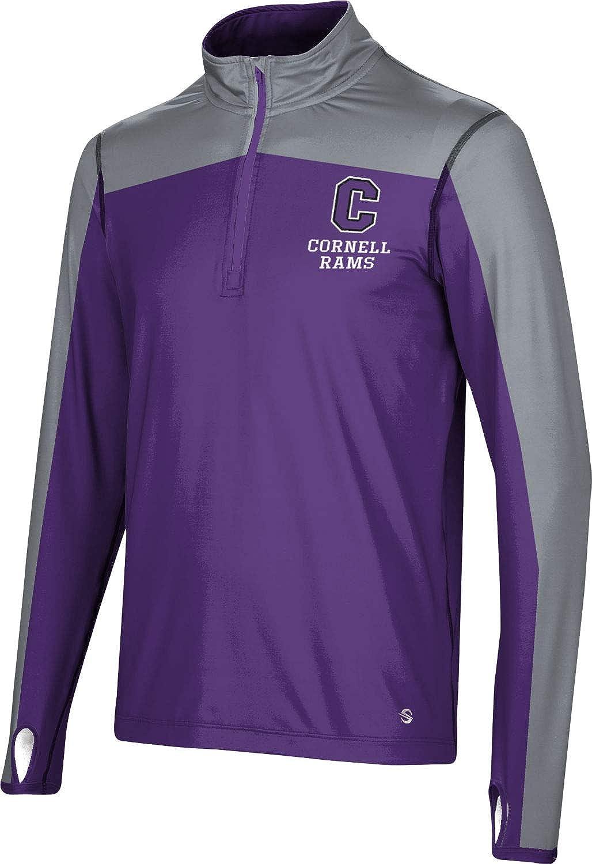 Sharp ProSphere Cornell College Mens Quarter Zip Long Sleeve