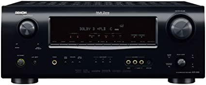 Denon AVR-1609 7.1-Channel Multi-Zone Home Theater Receiver (Discontinued by