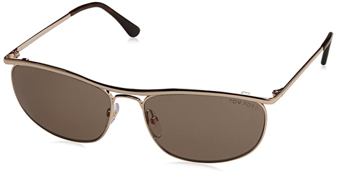 Tom Ford Gafas de Sol Tate (59 mm) Crudo: Amazon.es: Ropa y ...