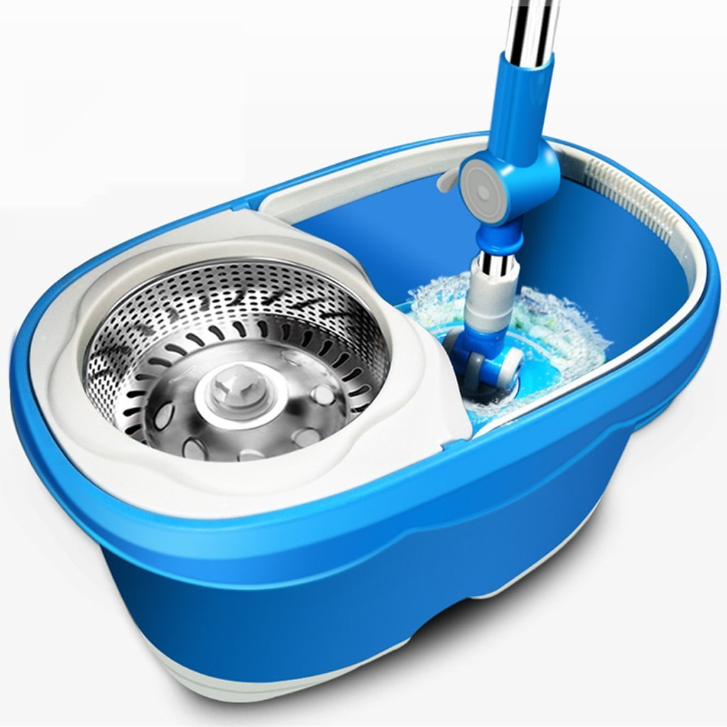 Desti Flakes Rotate The Mop Bucket Without Hand Washing (Color : Blue) by Desti Flakes (Image #1)