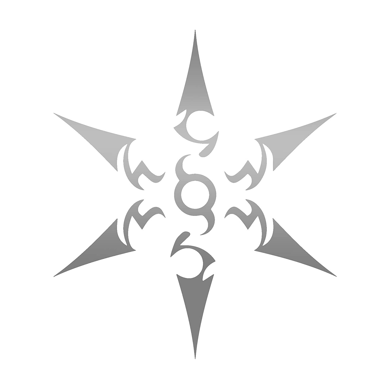 Amazon.com: ANGDEST Ninja Class Icon (Metallic Silver) (Set ...