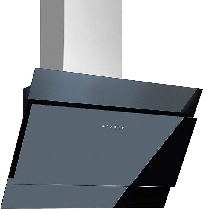 Campana de salida de aire sin cabeza, 60 cm, acero inoxidable y cristal: Amazon.es: Grandes electrodomésticos