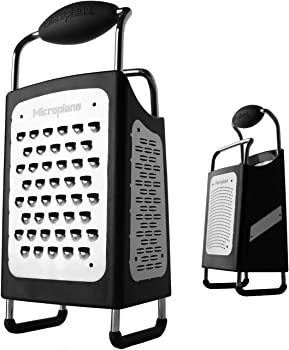 Microplane Soft Handle And Non-Slip Base Box Grater