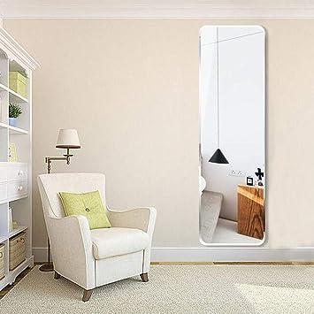 Specchio da Terra Senza Cornice a Parete, Adesivo da Parete ...