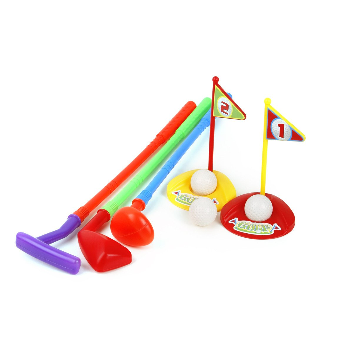 Ojam Swing 'N Play Kids Toy Golf Set (9) (9 Piece) by Ojam (Image #3)