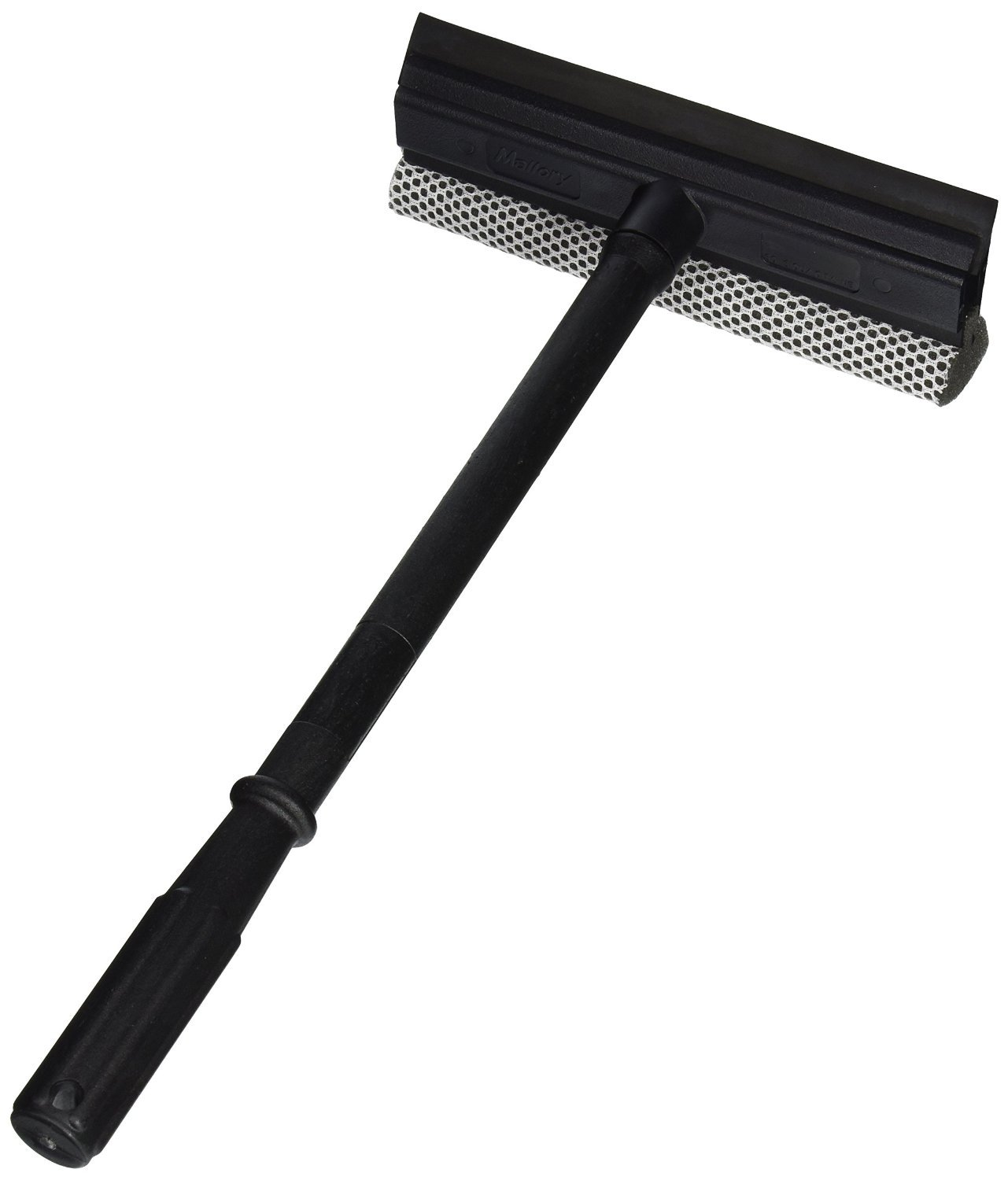 Black Duck Brand Window and Windshield Cleaning Sponge and Rubber Squeegee (1) 12106