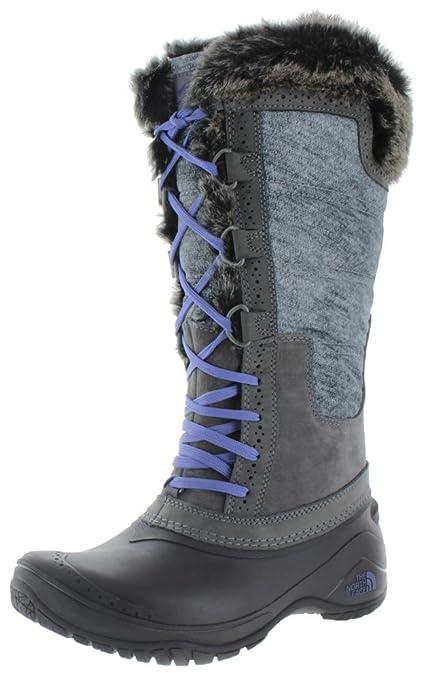 000af2525 The North Face Women's Shellista II Tall Boot,Plum Kitten Grey/Deep  Wisteria Pur