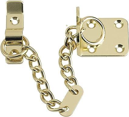 chaine de porte xfort laiton poli limiteur de porte etroit limiteur de porte exterieur et interieur pour portes en bois et en pvc securite