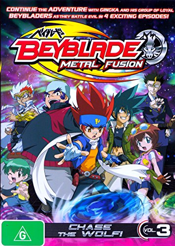 Beyblade Metal Fusion Volume 3 Chase the