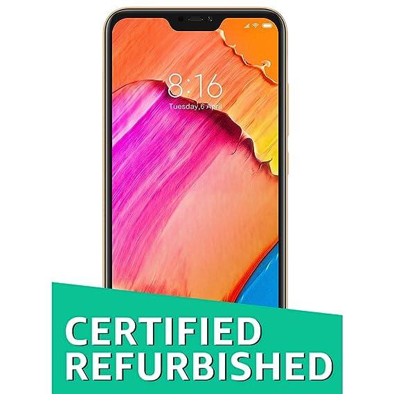 (CERTIFIED REFURBISHED) Redmi 6 Pro (Gold, 4GB RAM, 64GB Storage) Smartphones at amazon