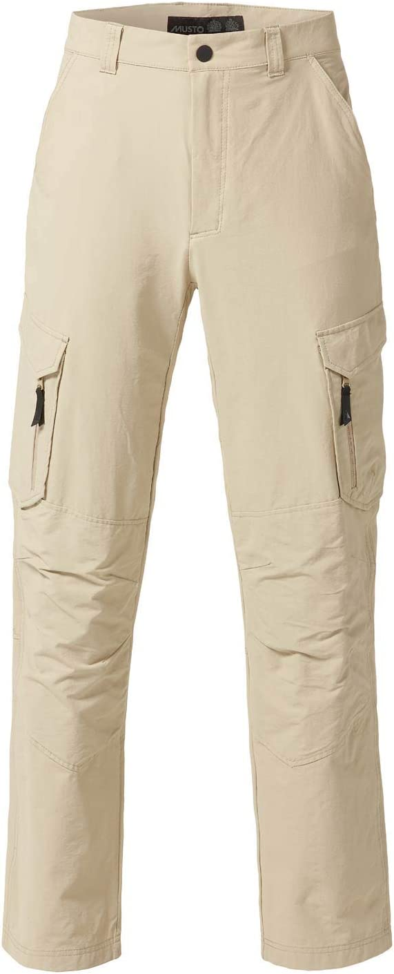 Musto 2016 Essential UV Fast Dry Trouser Light Stone Long Leg SE0781