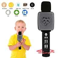 TSUN Wireless Children Karaoke Microphone,Karaoke Machine For Kids Girls,Toys For 3-16 Years Old Boys,Top Fun Birthday Gifts For 4 5 6 7 8 9 10 11Yrs Teens Girls Boys,Best Presents for Young Girls
