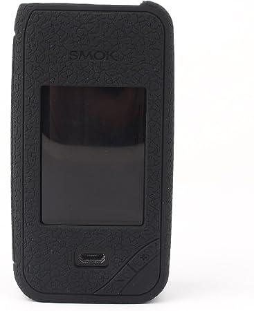 CEOKS para Smok Xpriv 225W Kit Protector de Silicona Caso de protección Smok X-priv 225W Kit Mod Box Piel Caso Cubrir Abrigo de la Manga (Negro): Amazon.es: Electrónica