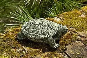 Campania International A-421-AS My Pet Turtle Statue, Alpine Stone Finish