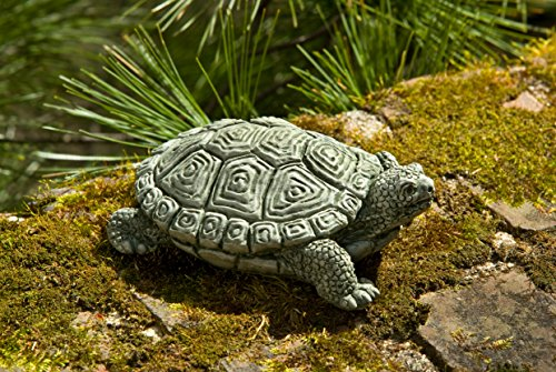 - Campania International A-421-BR My Pet Turtle Statue, Brown Stone Finish