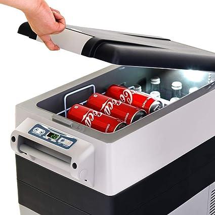 Amazon.es: Goplus 54 Quarts Nevera portátil congelador Compacto ...