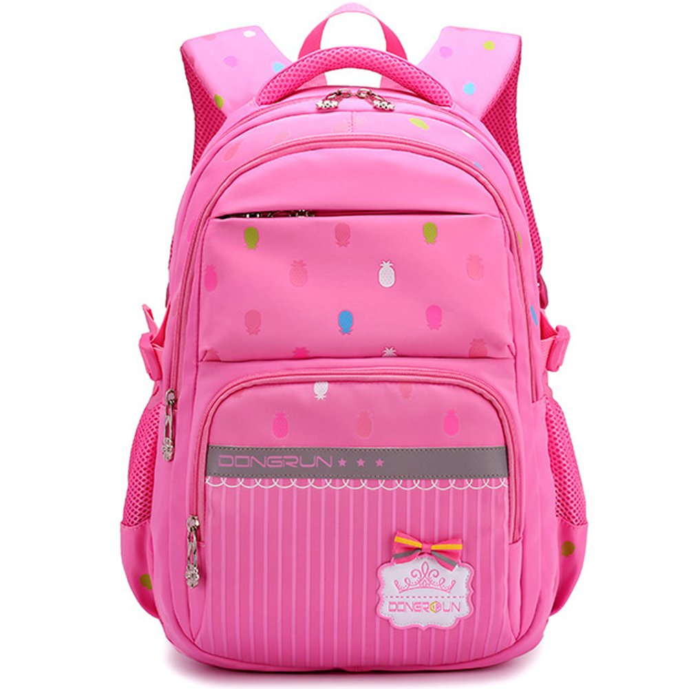 Uniuooi School Bag Backpack for Primary Girls 7-12 Years Old ... cce42f3dfbc8f