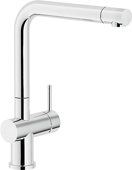 Nobili Rubinetterie Lv00113 Miscelatore Monocomando per lavello da ...