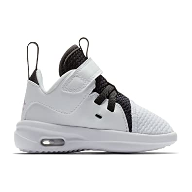 29148e149f9762 Jordan Nike Toddlers Air First Class GT White Fuchsia Blast Black Casual  Shoe 6 Infants