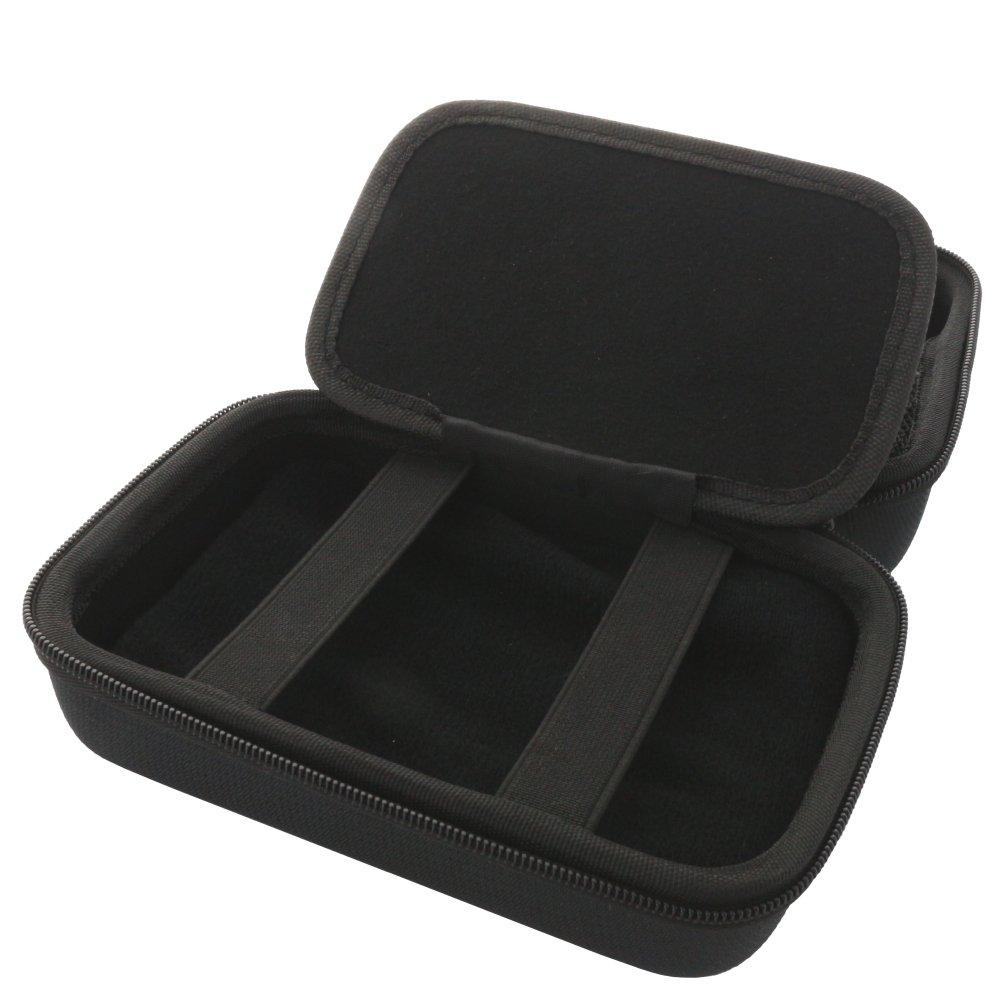 Navitasche schwarz Navigationsger/äte passend f/ür Garmin//Tomtom Go Basic Start 52 Universal Hardcase Navi Etui Tasche f/ür 5 Zoll 12,7cm