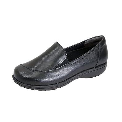 fe601fb8c27e4 Amazon.com: 24 Hour Comfort Peggy Women Adjustable Wide Width Step ...