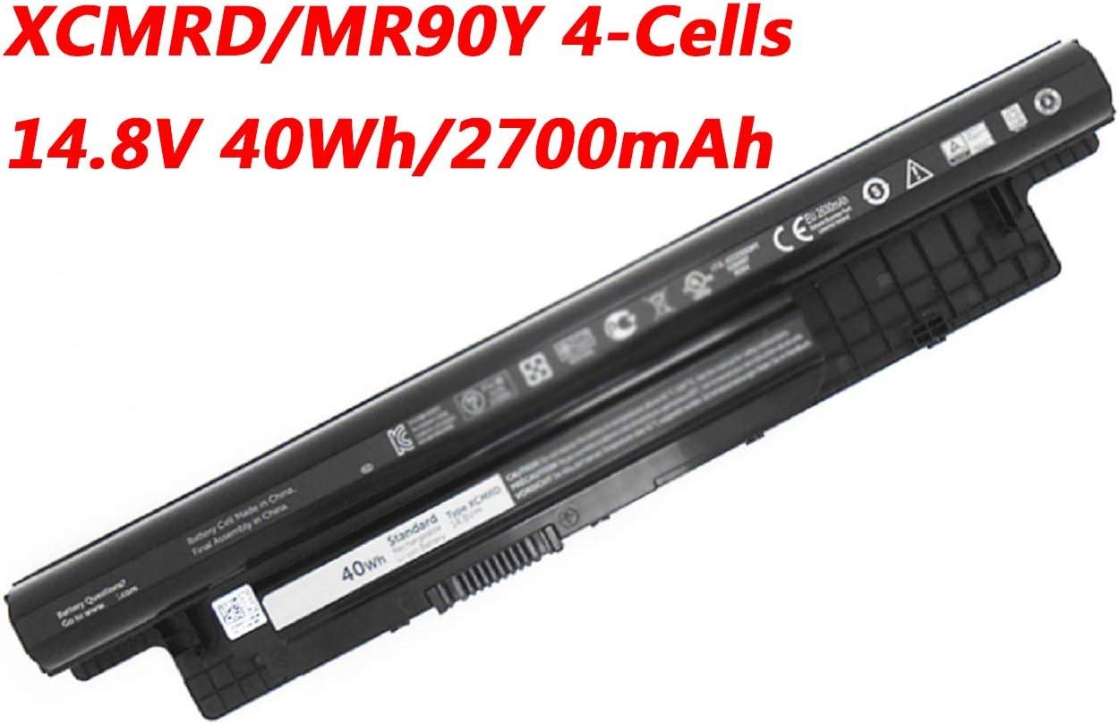 Dentsing XCMRD 14.8V 40Wh Battery for Dell Inspiron 14 3421 / 14r 5421 3437 N3421 N5421 / 15 3521 / 15r 3537 5521 5537 N3521 N5521 N5537 / 17 3721 / 17r 5737 N3721 N3737 N5721 N5737 5721 MR90Y