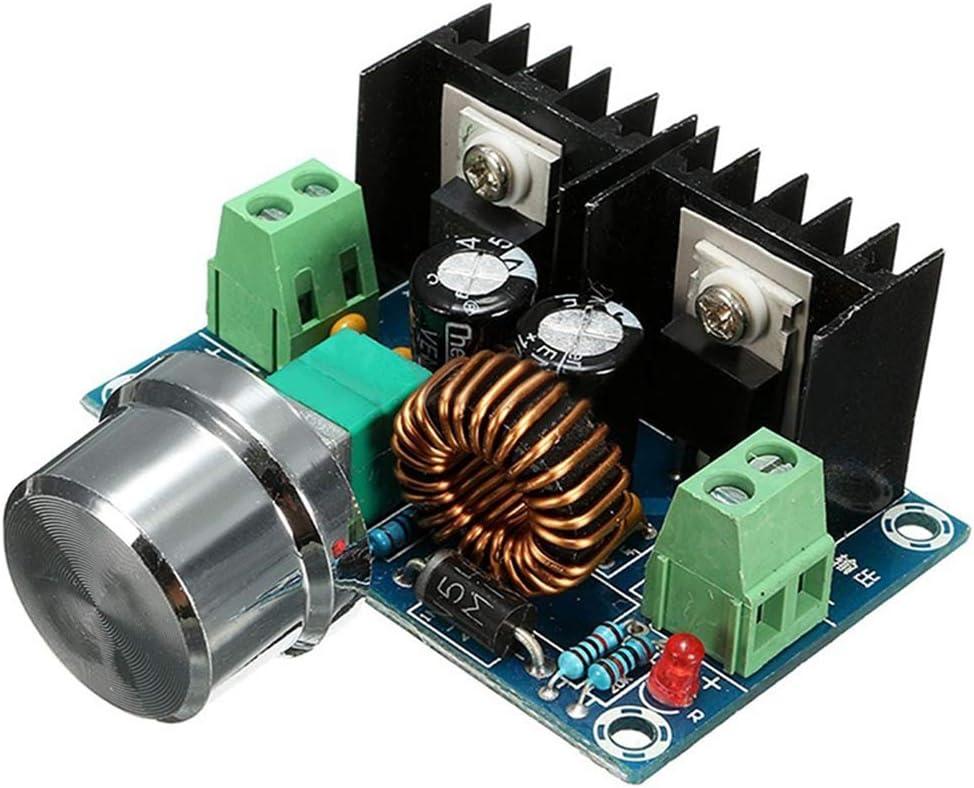 Elenxs XH-M401 Módulo Buck Voltaje de CC de Alta Potencia XL4016E1 regulador DC-DC con regulador de tensión máxima 8A neumáticos