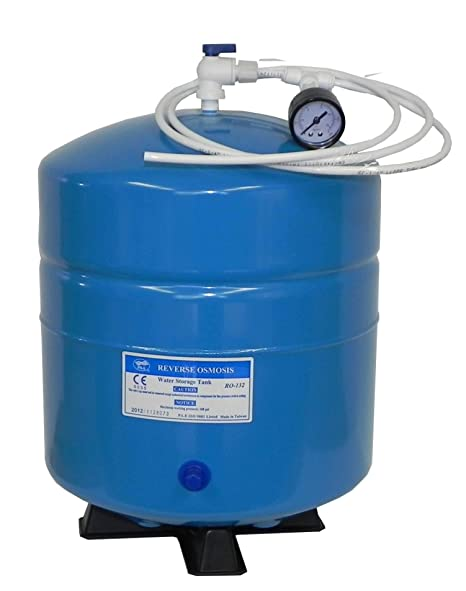 genuine PAE RO-132 water pressure tank with FREE pressure gauge