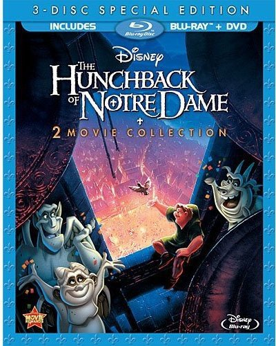 The Hunchback of Notre Dame / The Hunchback of Notre Dame II (3-Disc Special Edition) (Blu-ray / DVD) (Gary Moore Story Of The Blues Tab)