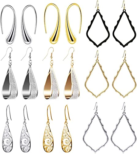 Silver Dangling Earrings Beautiful Earring Tree Of Life Dangle Hollow Hook Women