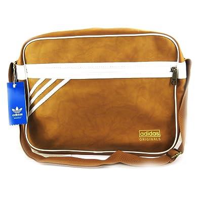 5049a136ee Adidas [L7301] - Sac bandoulière 'Adidas' camel: Amazon.fr ...
