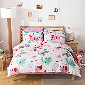Amazon Com Fashion Design Kids Bedding Sets 4pcs Bedsheet