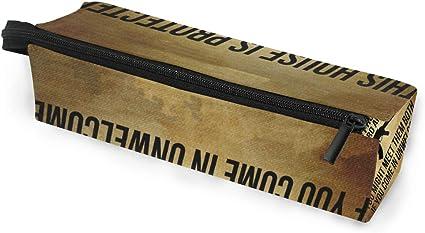 Estuche para gafas de sol Pluma Estuche Lápiz Pistola Casa protegida Caja de almacenamiento de artículos de papelería Bolsas de cosméticos Bolsa de lentes con lazo colgante: Amazon.es: Oficina y papelería