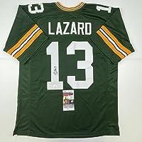 $99 » Autographed/Signed Allen Lazard Green Bay Green Football Jersey JSA COA