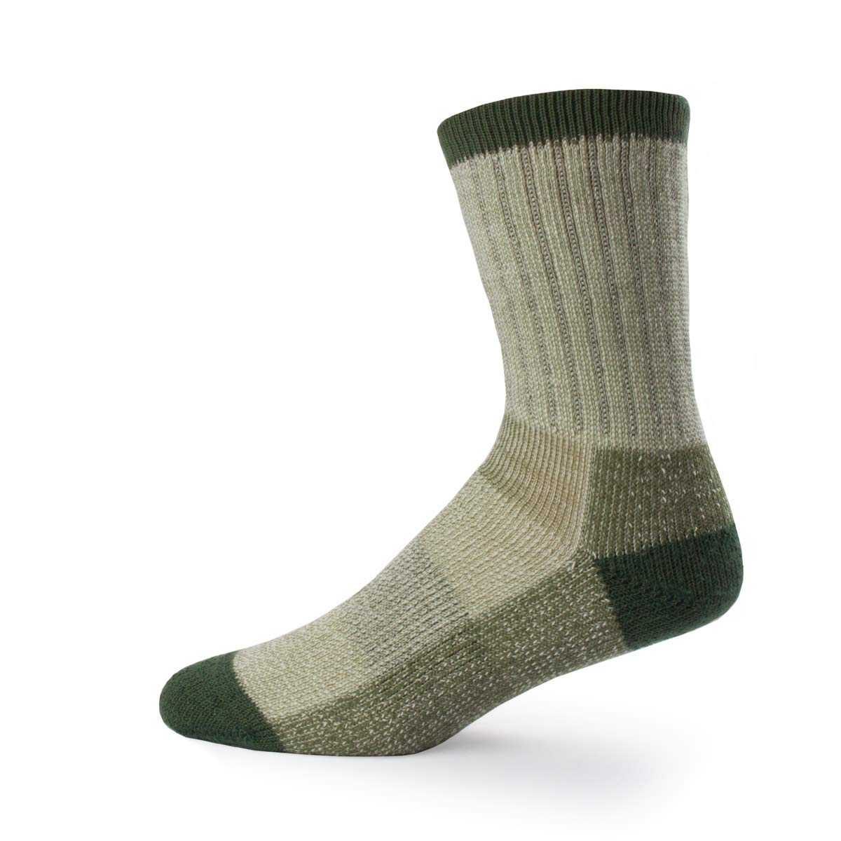 Minus33 Merino Wool Day Hiker Sock, Olive, Large by Minus33 Merino Wool