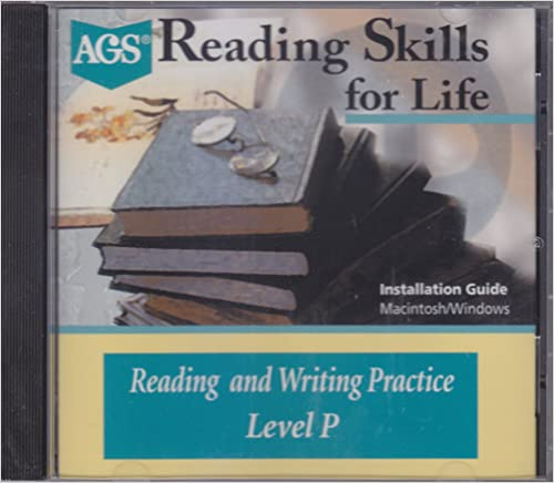 Amazon.com: READING SKILLS FOR LIFE LEVEL P- CD-ROM (Ags Reading ...