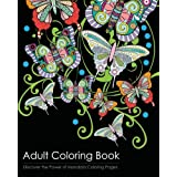 Adult Coloring Book: Discover the Healing Power of Mandala Coloring Pages