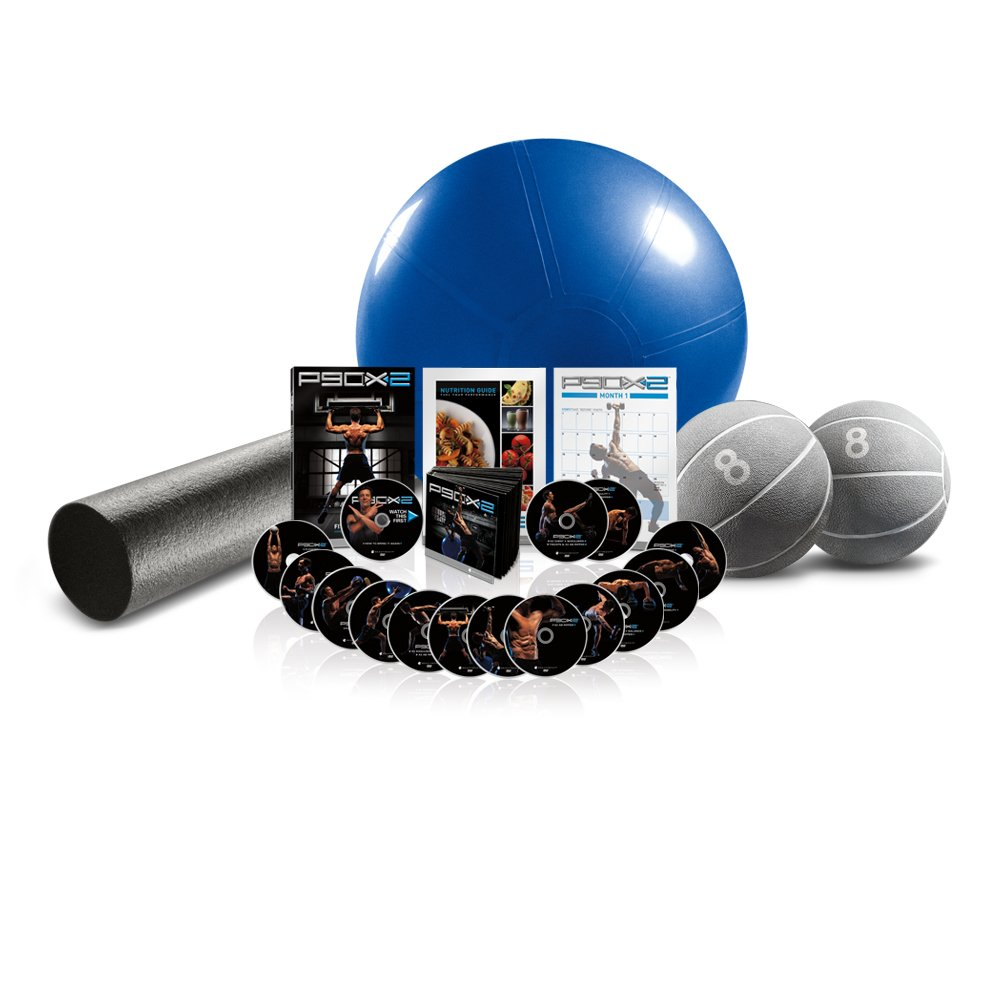 P90X2: DVD Series Deluxe Kit
