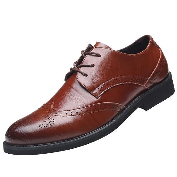 Herren Bullock Lace Retro Formale Mens Business Flachen Mund Schuhe rQdxBshtC
