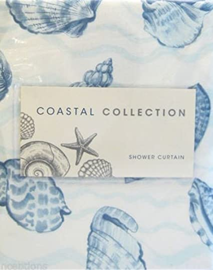 Image Unavailable Not Available For Color Coastal Collection Fabric Shower Curtain