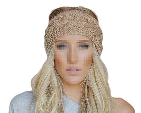 Butterme Frau Winter Gestrickt Stirnband Häkeln Headwrap Crochet ...