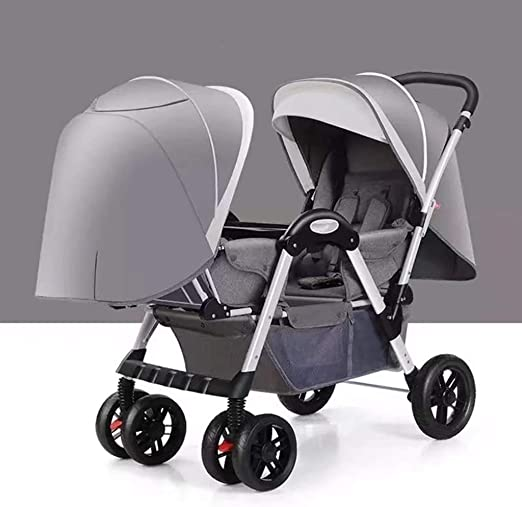 Kinder Zwillingswagen Geschwisterwagen Zwillingsbuggy Kinderwagen Reisebuggy neu