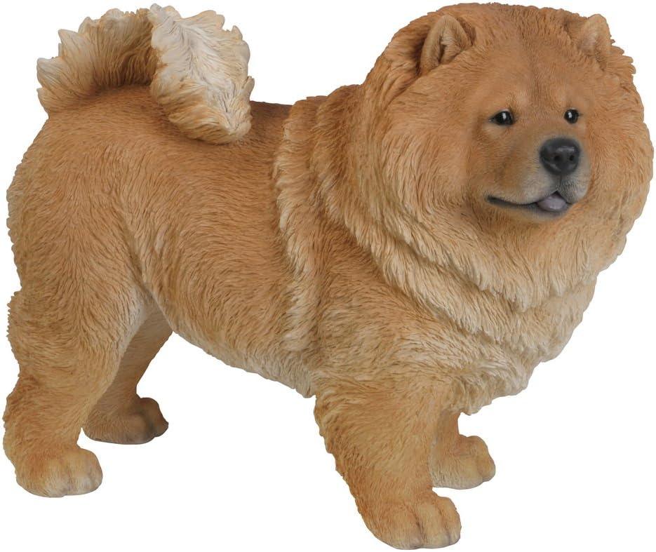 Hi-Line Gift Ltd Standing Chow Chow Dog Statue