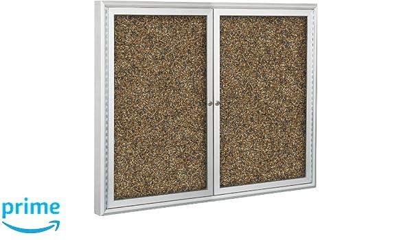 Amazon.com : BestRite 3 x 4 Feet Outdoor Enclosed Bulletin Board ...