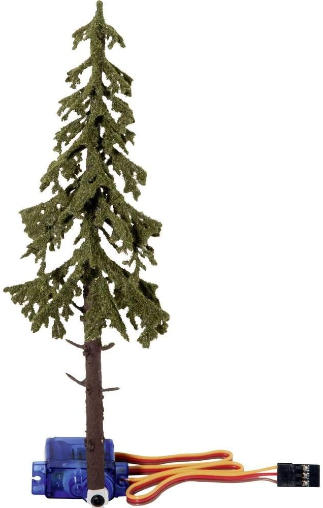 """Coloured Noch 21929 Micro-Motion Falling Spruce Tree/"""" 17,5 cm high"""