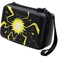 Rayvol Carrying Case for Pokemon Trading Cards, Fits Up to 400 Cards, Card Holder with Hand Strap and Carabiner
