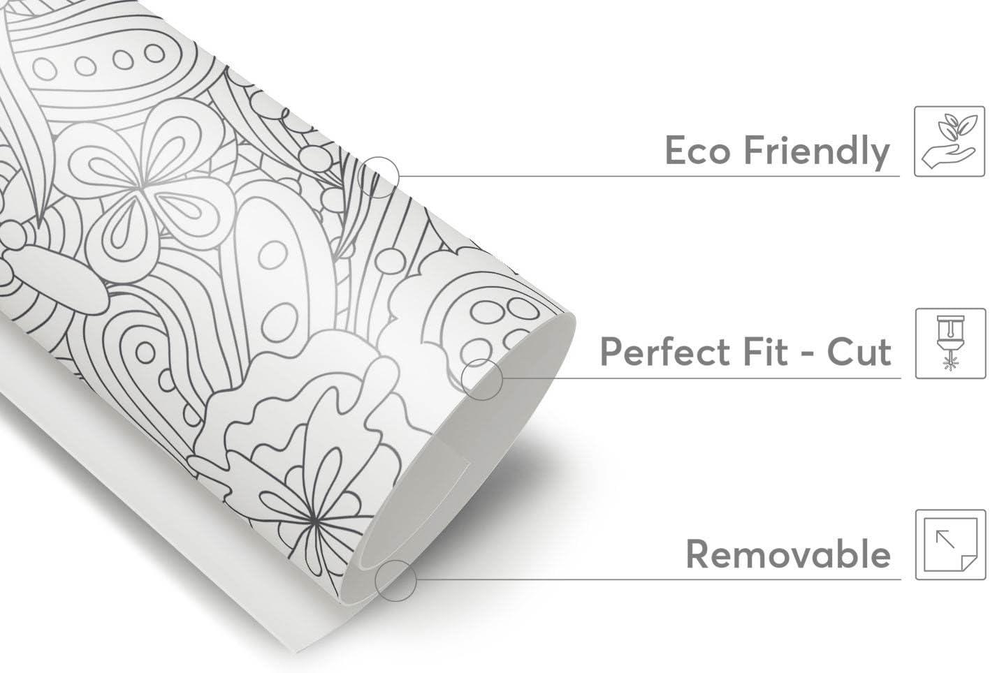 Muebles de Tattoo para Ikea hemnes TV de banco 2 cajones pantalla Dekor Pegatinas para Muebles de pantalla | Muebles Renovar Salón Ideas | Diseño Mármol Negro, Vinilo de calidad sin disolventes,
